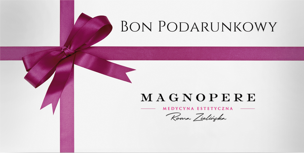 bon podarunkowy wklinice Magnopere wKrakowie